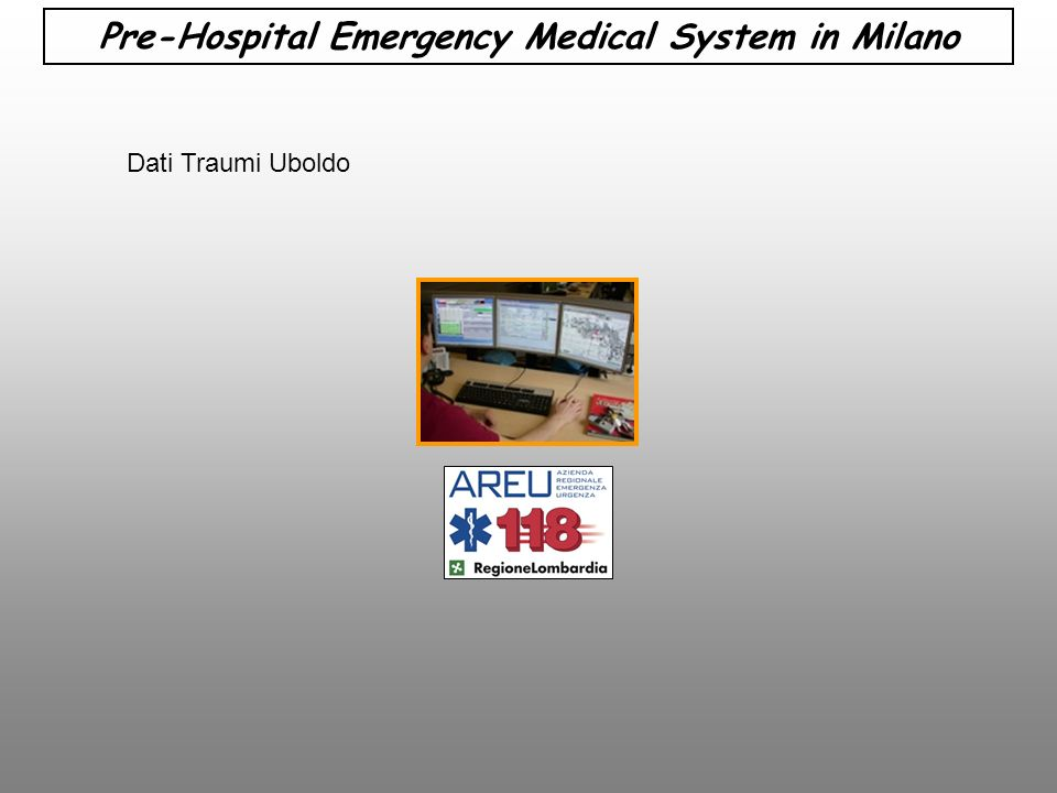 Pre-Hospital Emergency Medical System in Milano