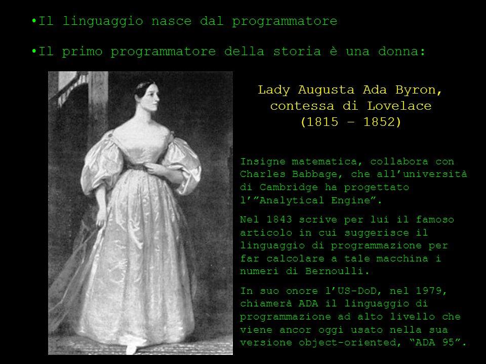 Lady Augusta Ada Byron, contessa di Lovelace (1815 – 1852)