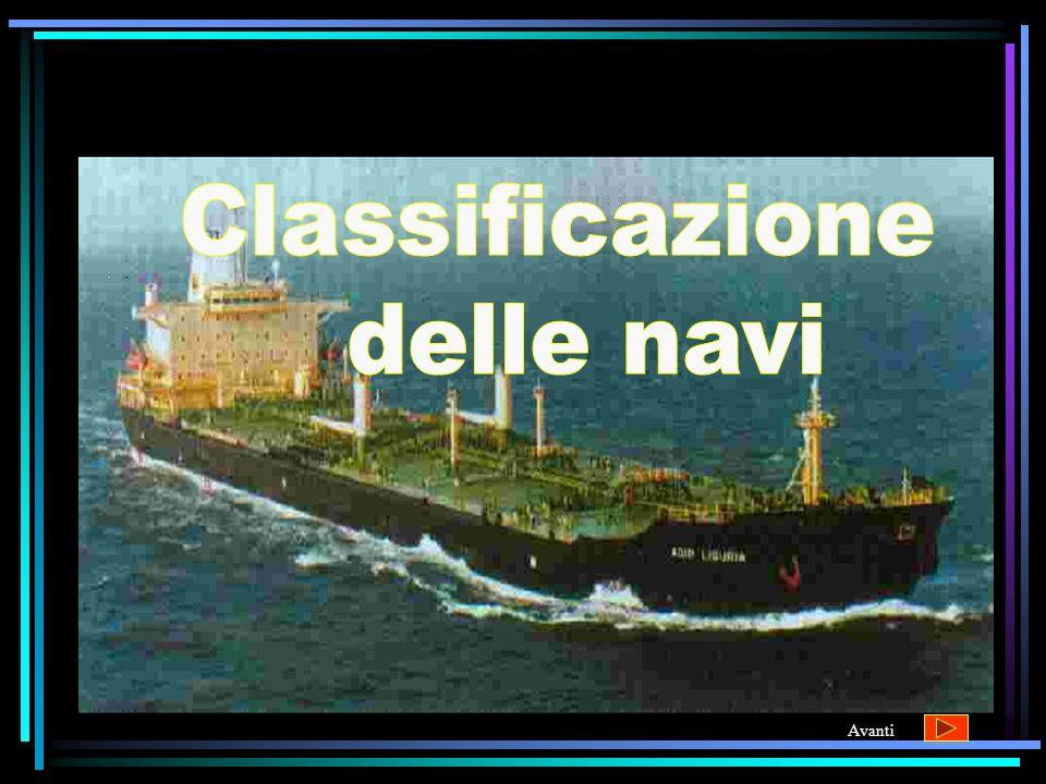 Classificazione delle navi Avanti