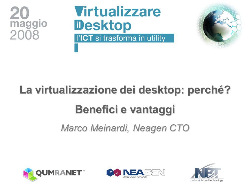 La virtualizzazione dei desktop: perché