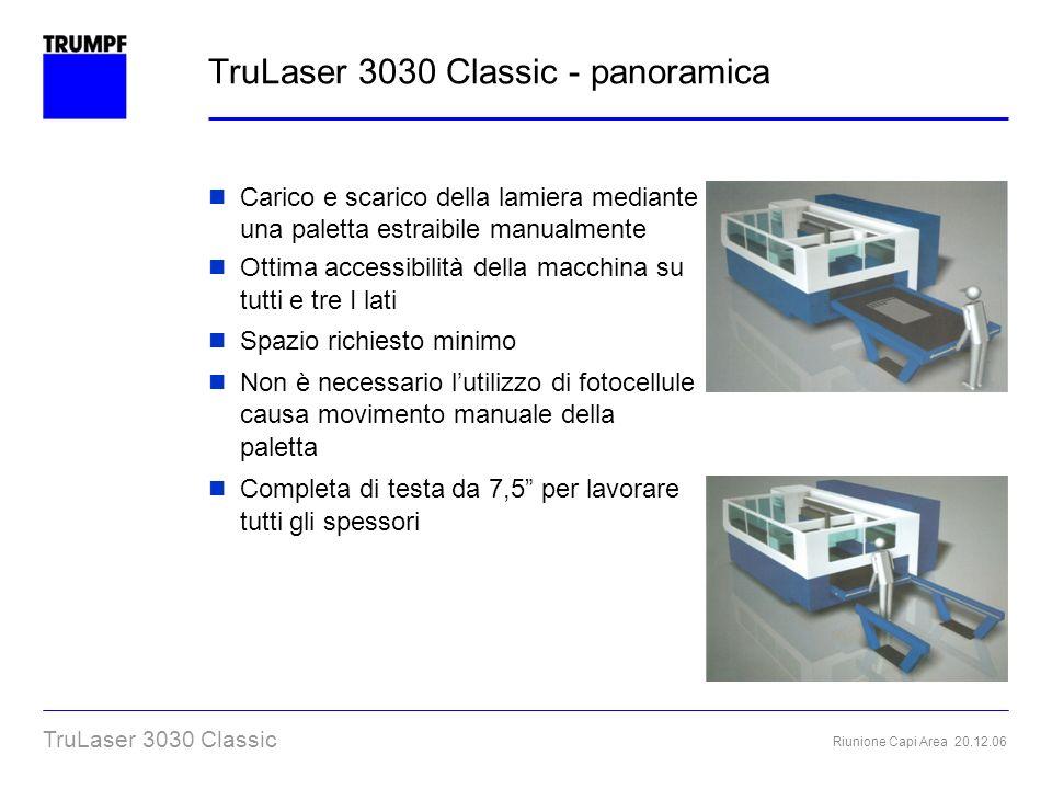 TruLaser 3030 Classic - panoramica