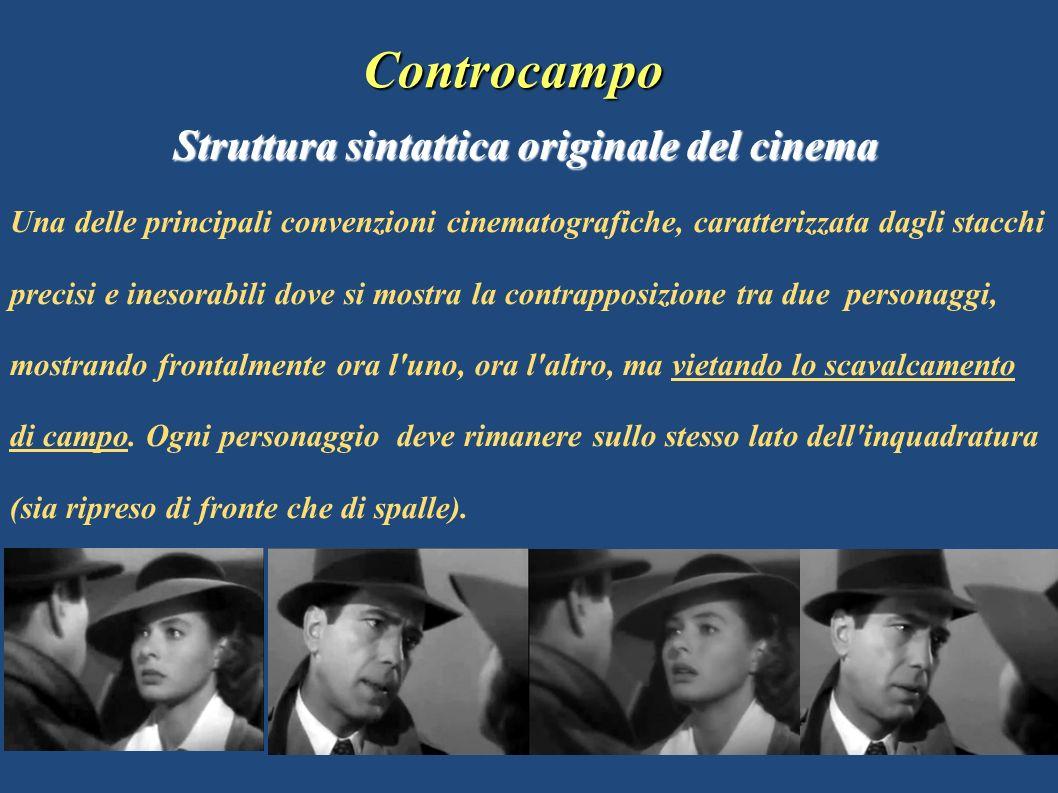 Controcampo Struttura sintattica originale del cinema