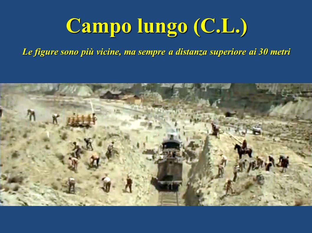 Campo lungo (C.L.) Le figure sono più vicine, ma sempre a distanza superiore ai 30 metri