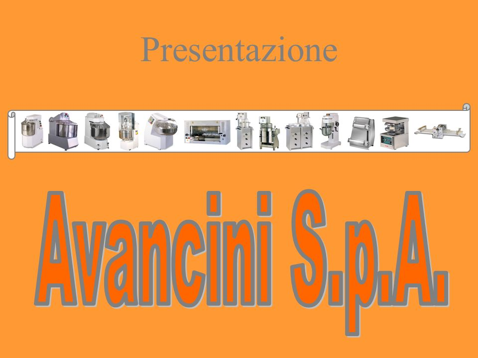 Presentazione Avancini S.p.A.
