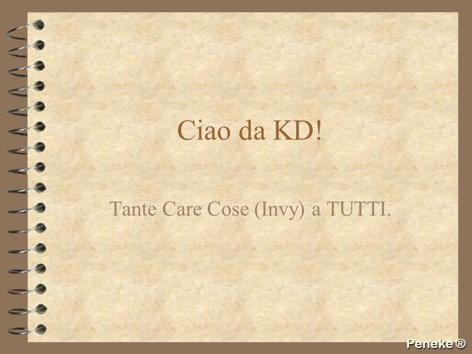 Tante Care Cose (Invy) a TUTTI.
