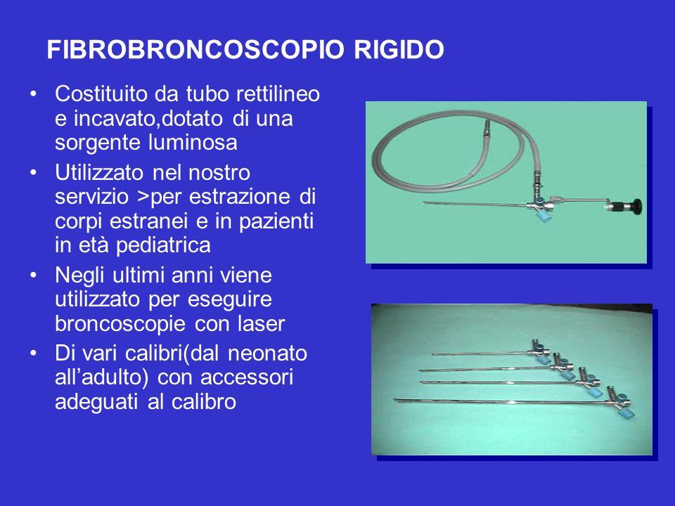 FIBROBRONCOSCOPIO RIGIDO