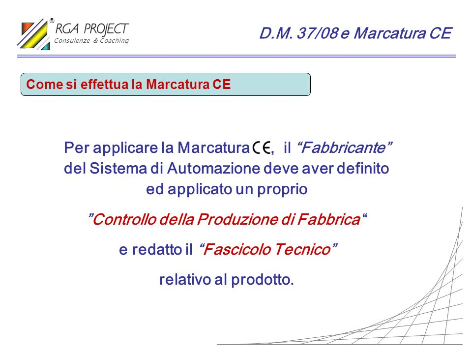 Controllo della Produzione di Fabbrica