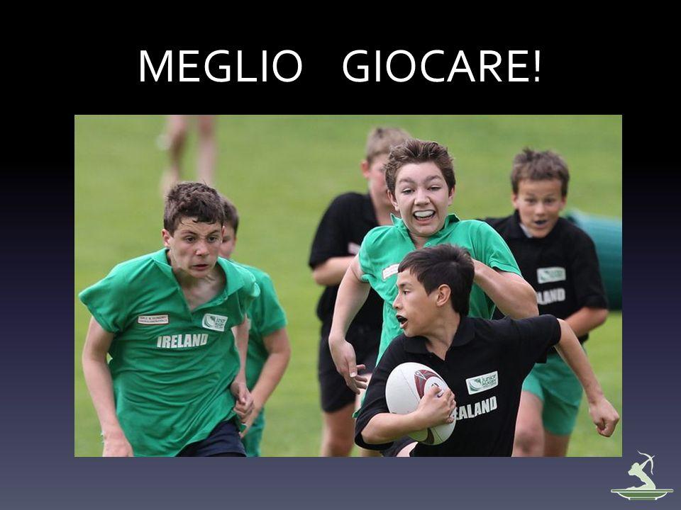 MEGLIO GIOCARE!