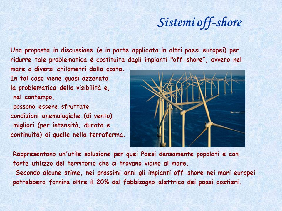 Sistemi off-shore