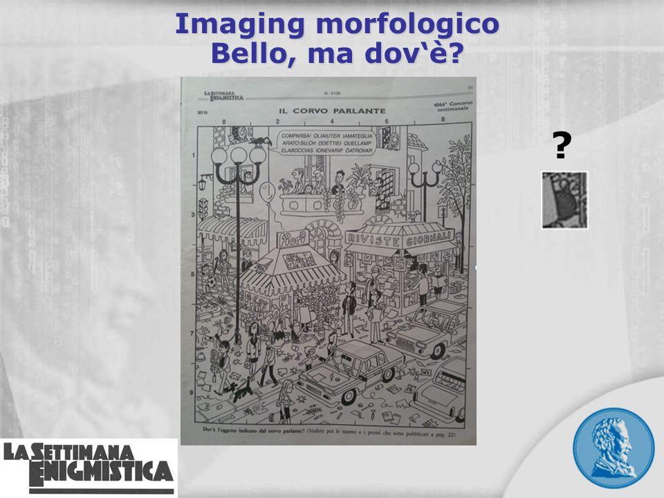 Imaging morfologico Bello, ma dov'è
