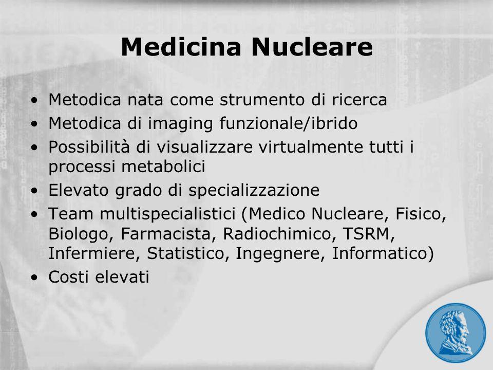 Medicina Nucleare Metodica nata come strumento di ricerca