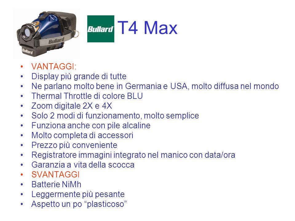 T4 Max VANTAGGI: Display più grande di tutte