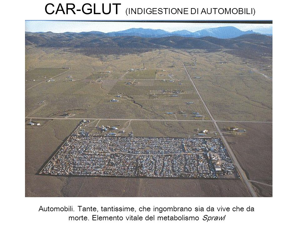 CAR-GLUT (INDIGESTIONE DI AUTOMOBILI)