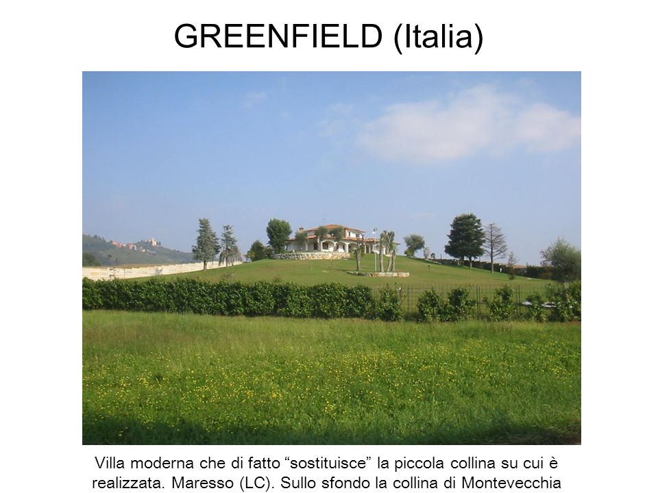 GREENFIELD (Italia)