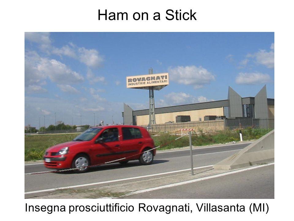 Insegna prosciuttificio Rovagnati, Villasanta (MI)