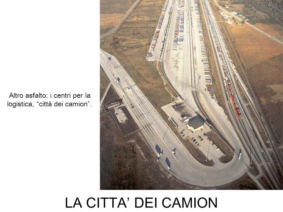 Altro asfalto: i centri per la logistica, città dei camion .