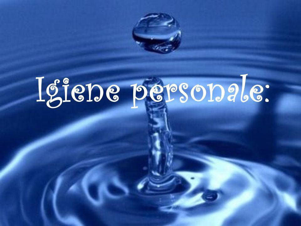 Igiene personale: