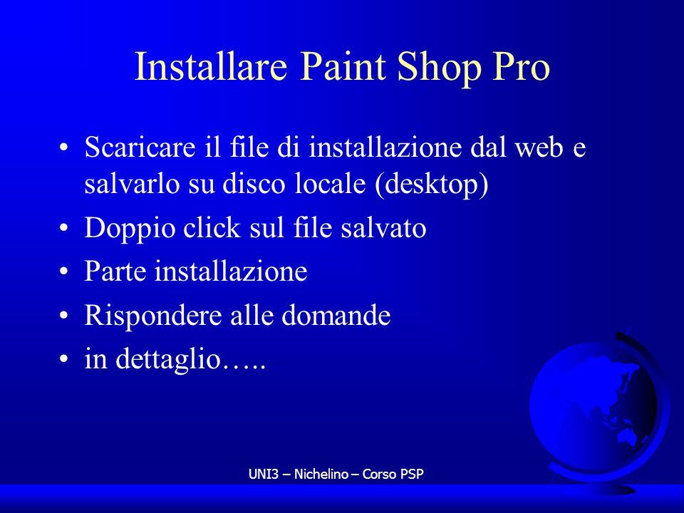 Installare Paint Shop Pro