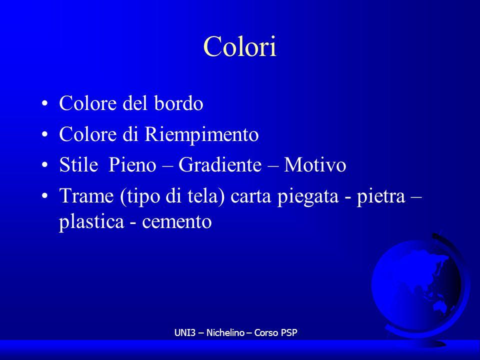 UNI3 – Nichelino – Corso PSP