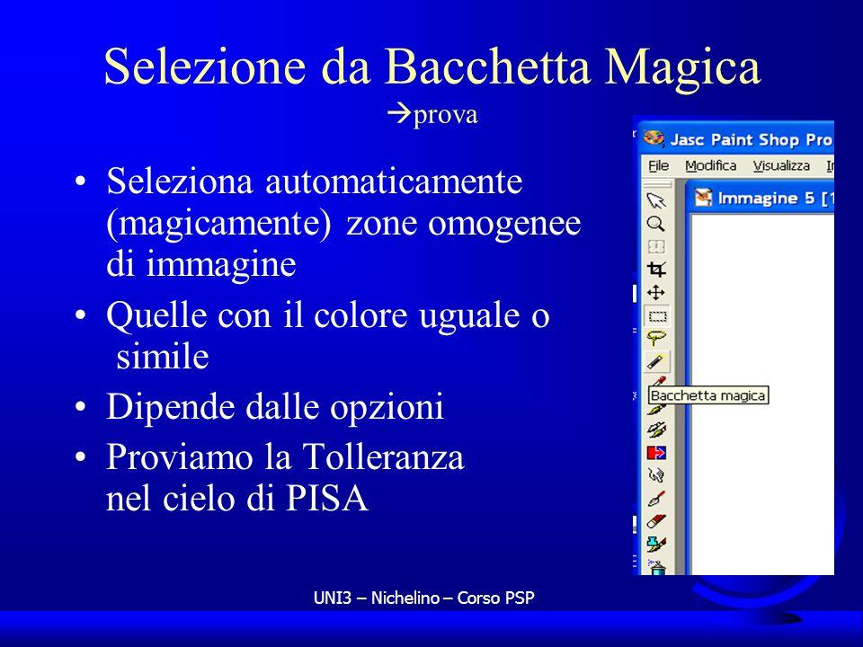 Selezione da Bacchetta Magica prova