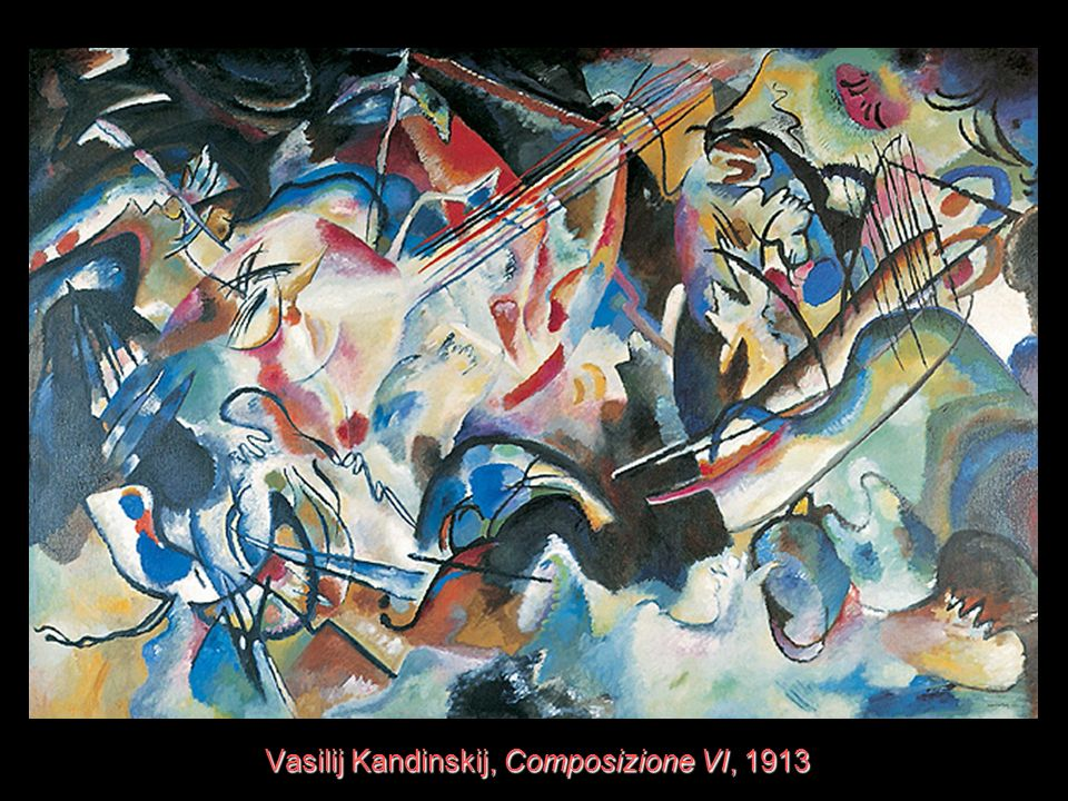 Vasilij Kandinskij, Composizione VI, 1913