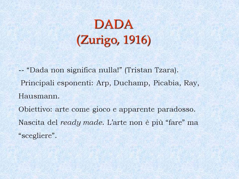 DADA (Zurigo, 1916)