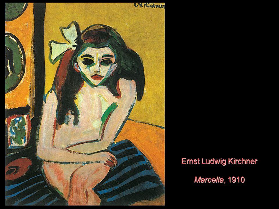 Ernst Ludwig Kirchner Marcella, 1910