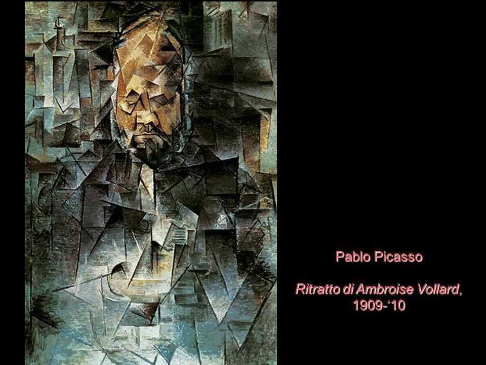 Pablo Picasso Ritratto di Ambroise Vollard, 1909-'10