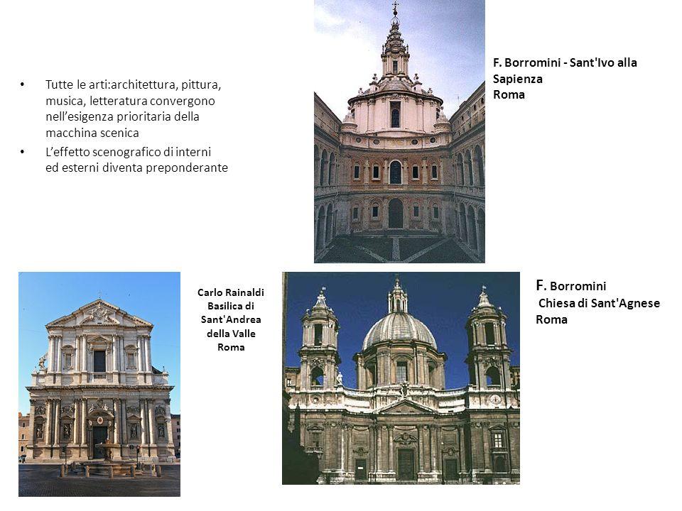 Carlo Rainaldi Basilica di Sant Andrea della Valle Roma