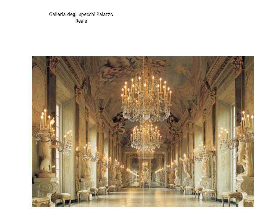Galleria degli specchi Palazzo Reale