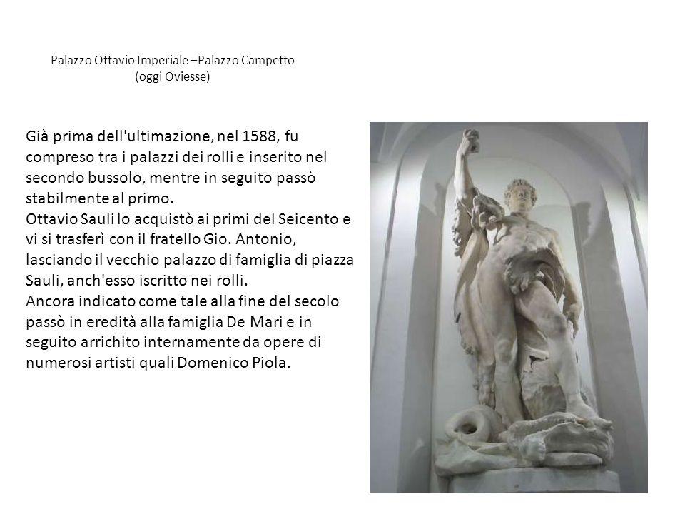 Palazzo Ottavio Imperiale –Palazzo Campetto (oggi Oviesse)