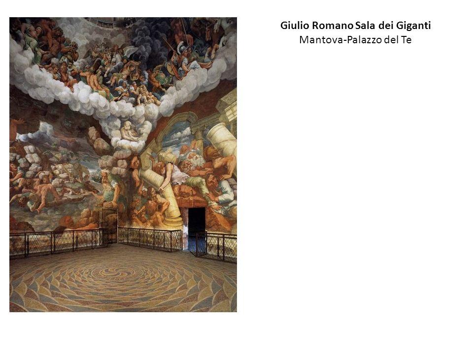 Giulio Romano Sala dei Giganti Mantova-Palazzo del Te