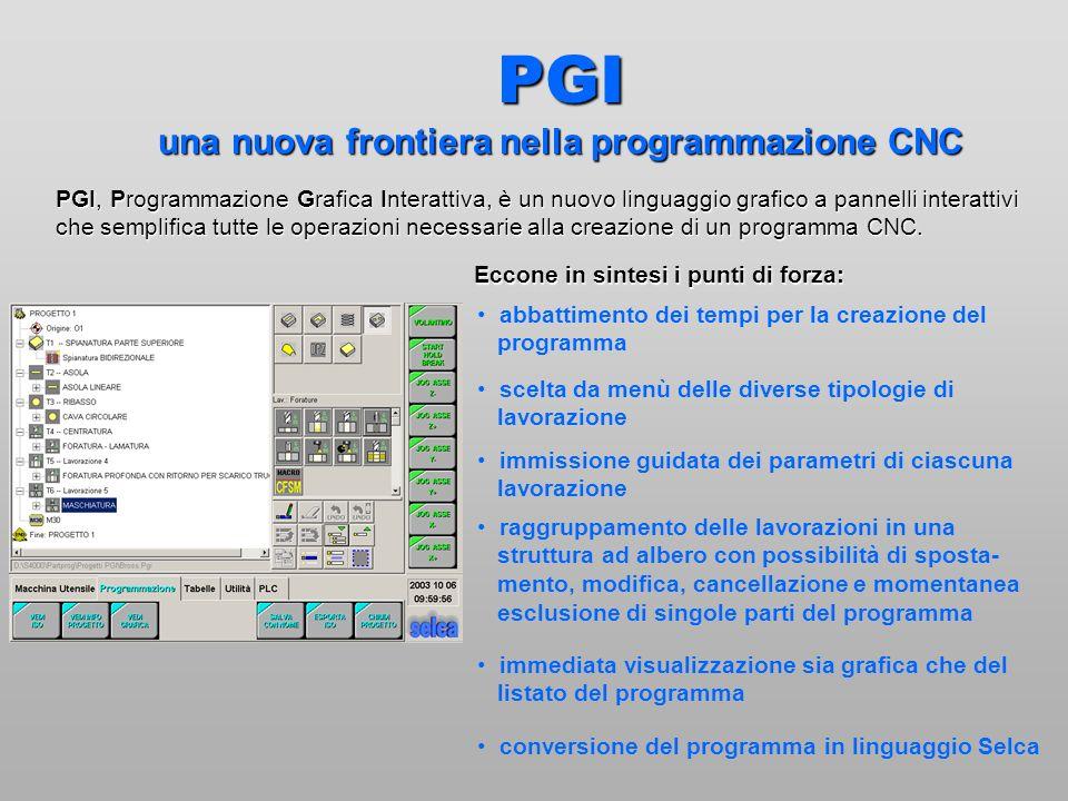 PGI una nuova frontiera nella programmazione CNC