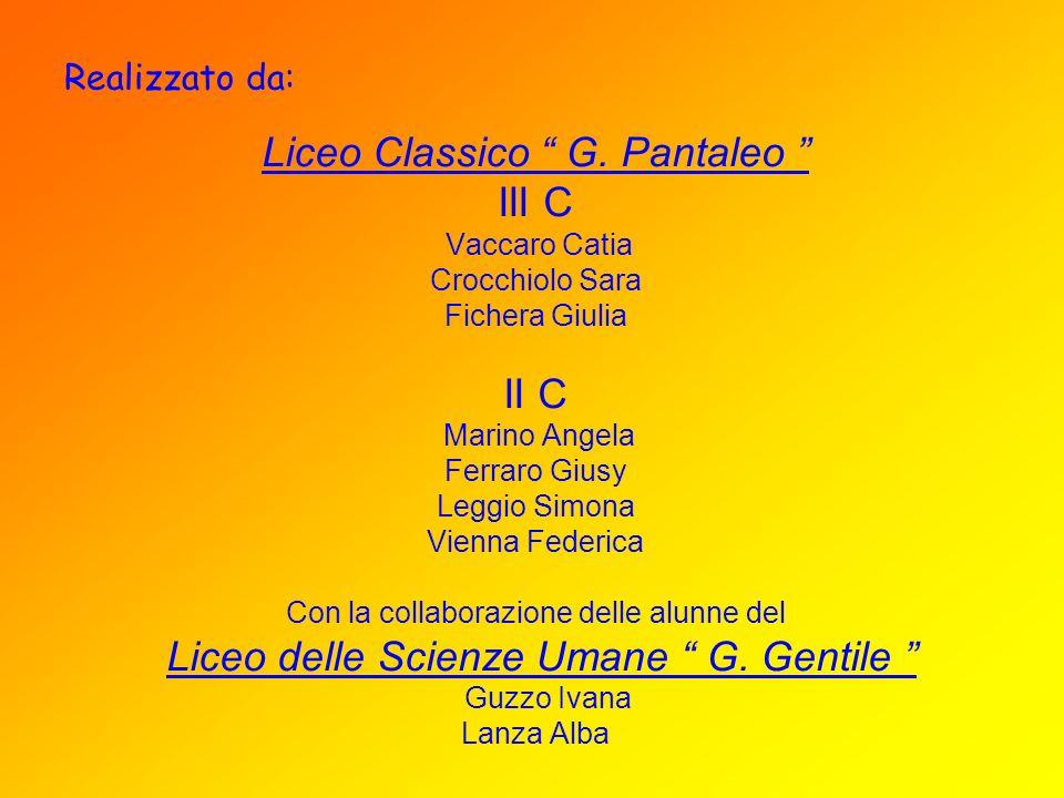 Liceo Classico G. Pantaleo III C