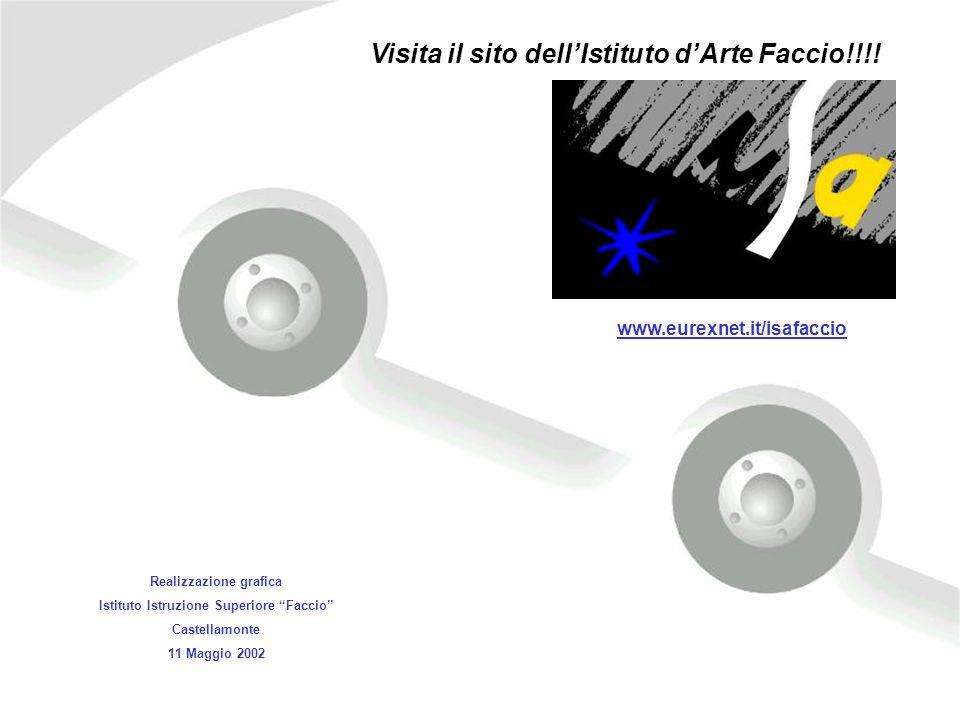Realizzazione grafica Istituto Istruzione Superiore Faccio