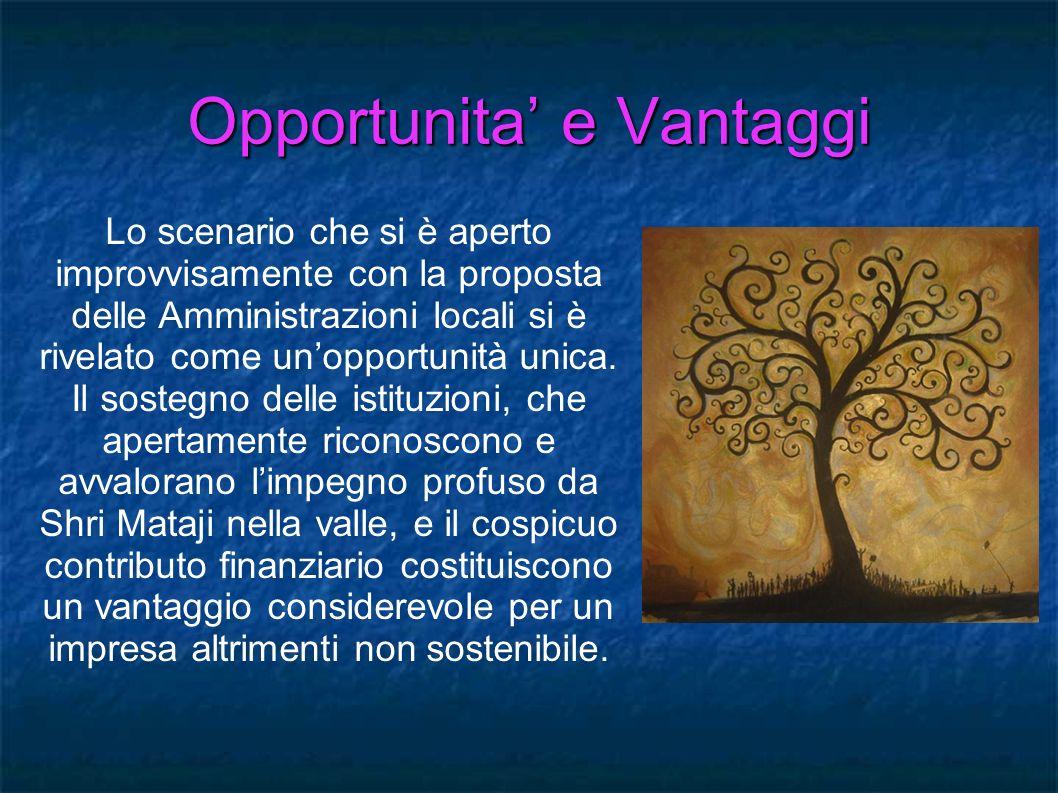Opportunita' e Vantaggi
