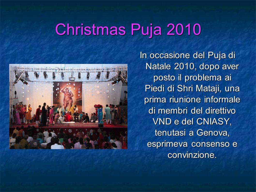 Christmas Puja 2010
