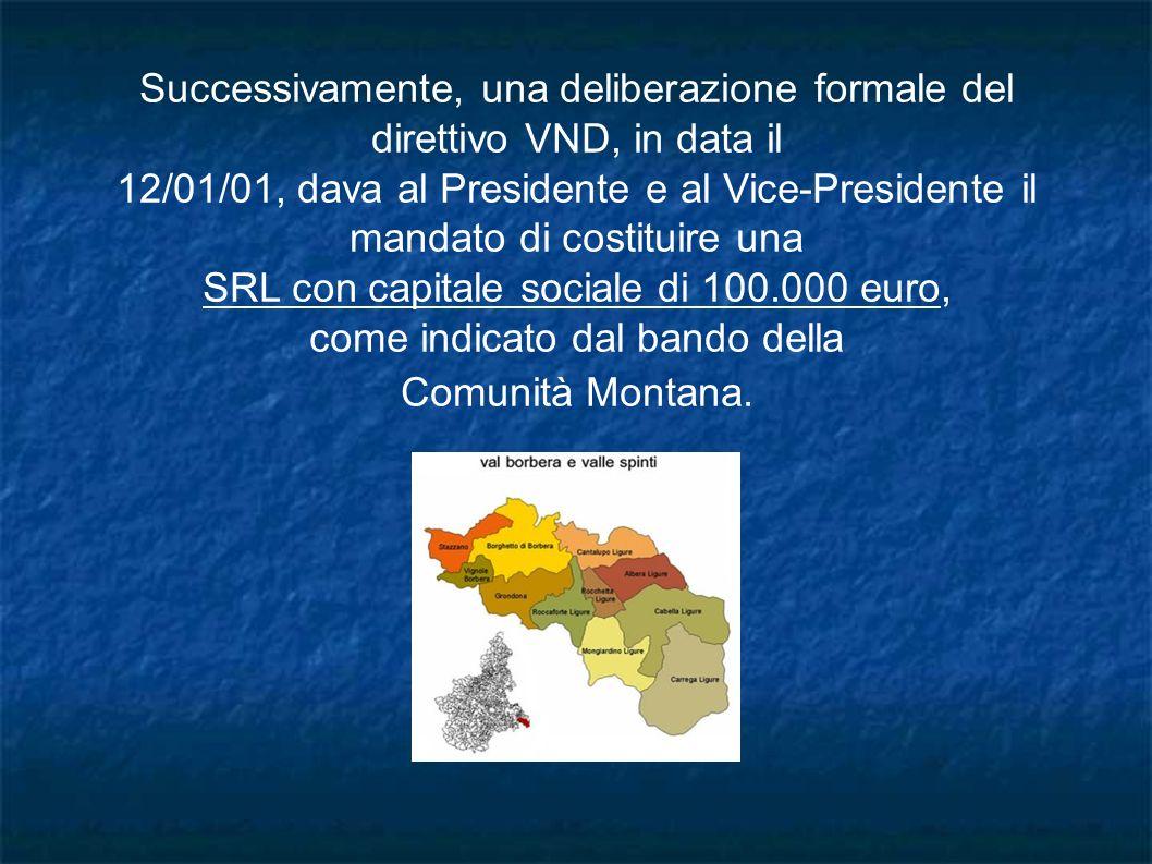 SRL con capitale sociale di 100.000 euro,