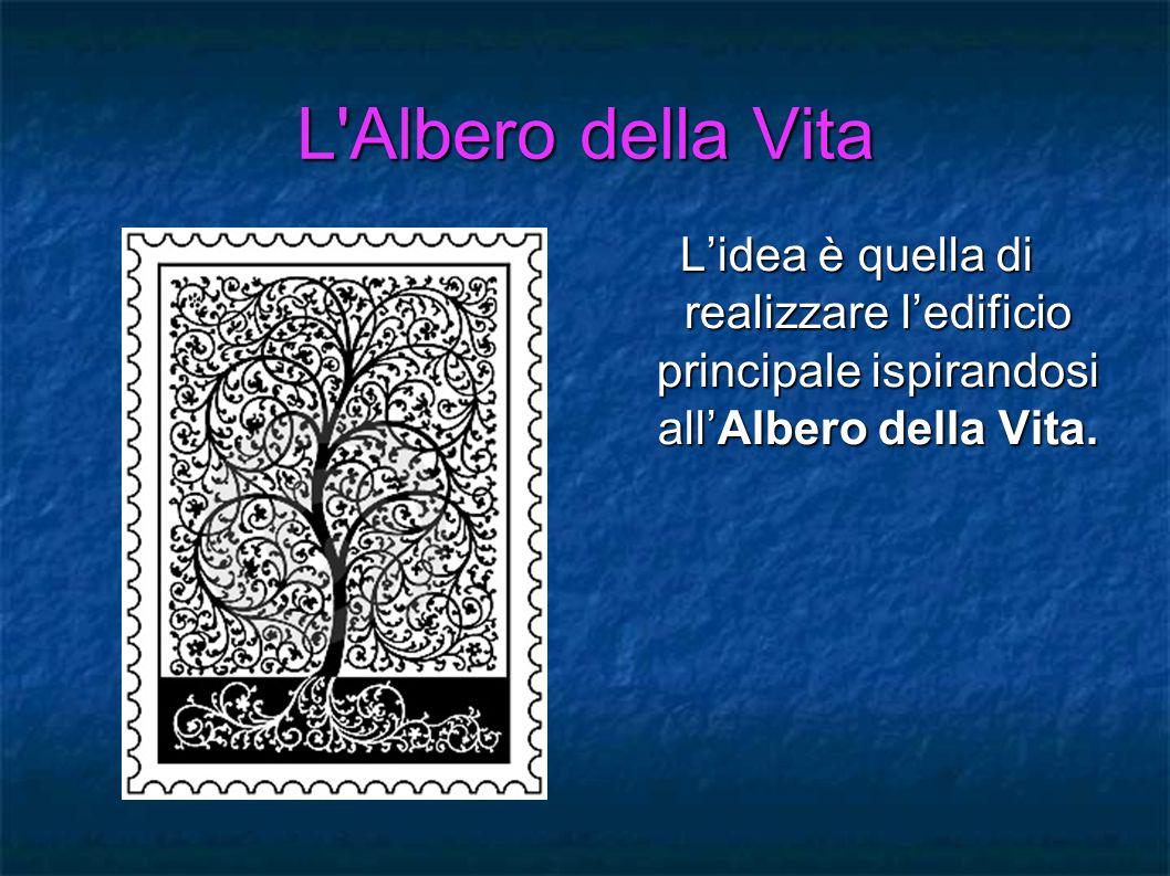 L Albero della Vita L'idea è quella di realizzare l'edificio principale ispirandosi all'Albero della Vita.