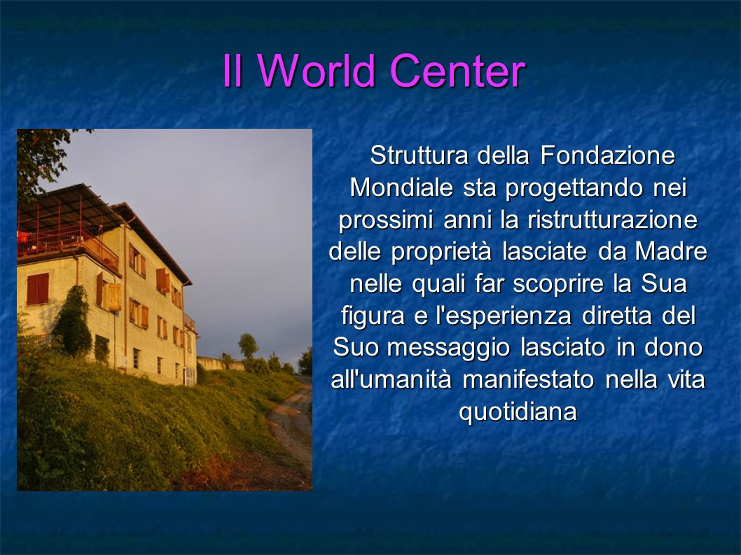 Il World Center