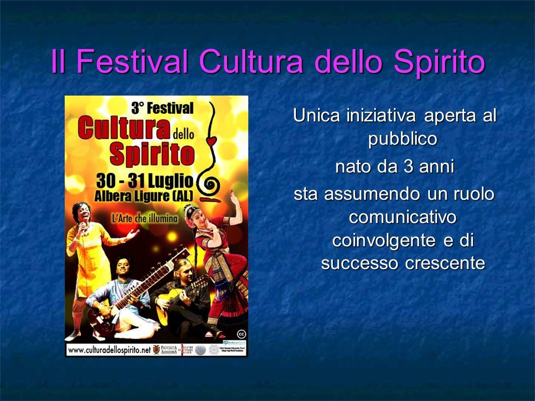 Il Festival Cultura dello Spirito