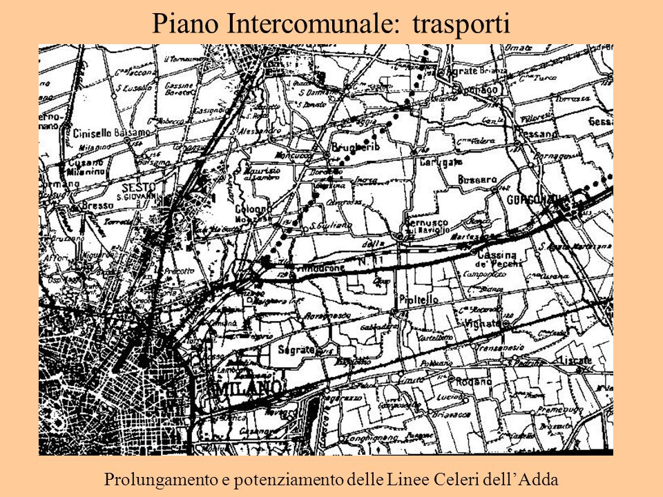 Piano Intercomunale: trasporti