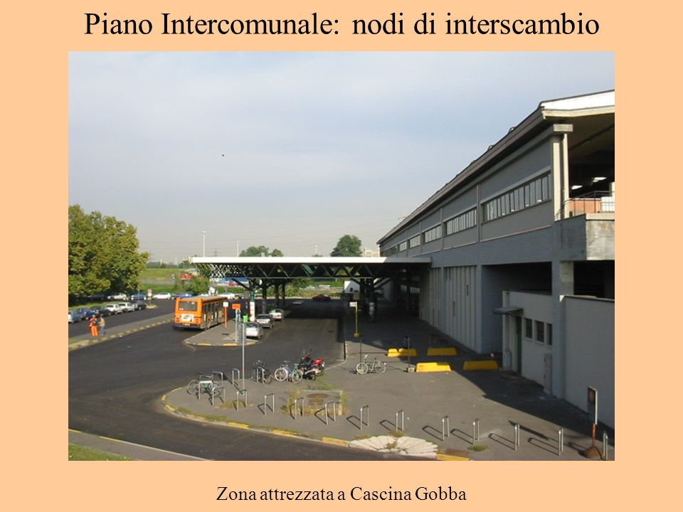 Piano Intercomunale: nodi di interscambio