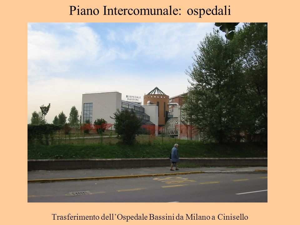 Piano Intercomunale: ospedali