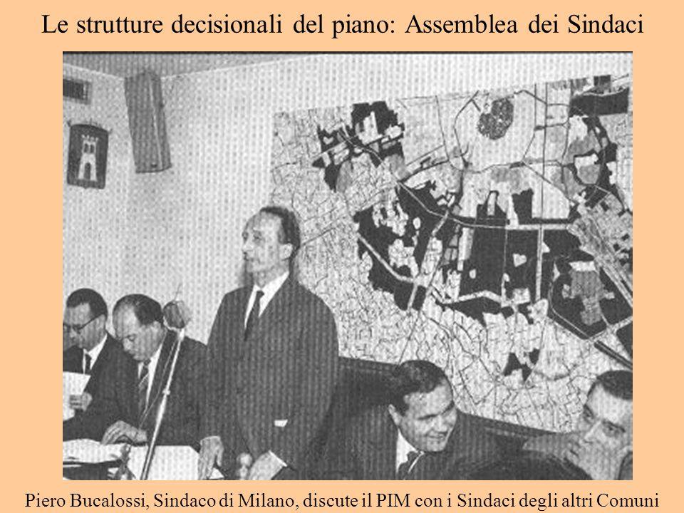 Le strutture decisionali del piano: Assemblea dei Sindaci