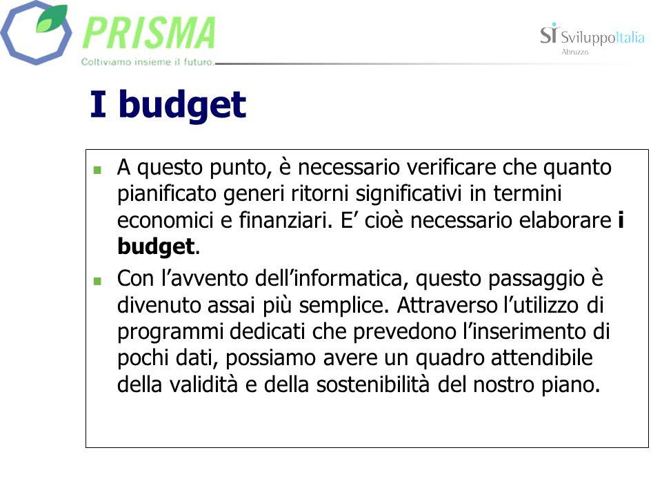 I budget