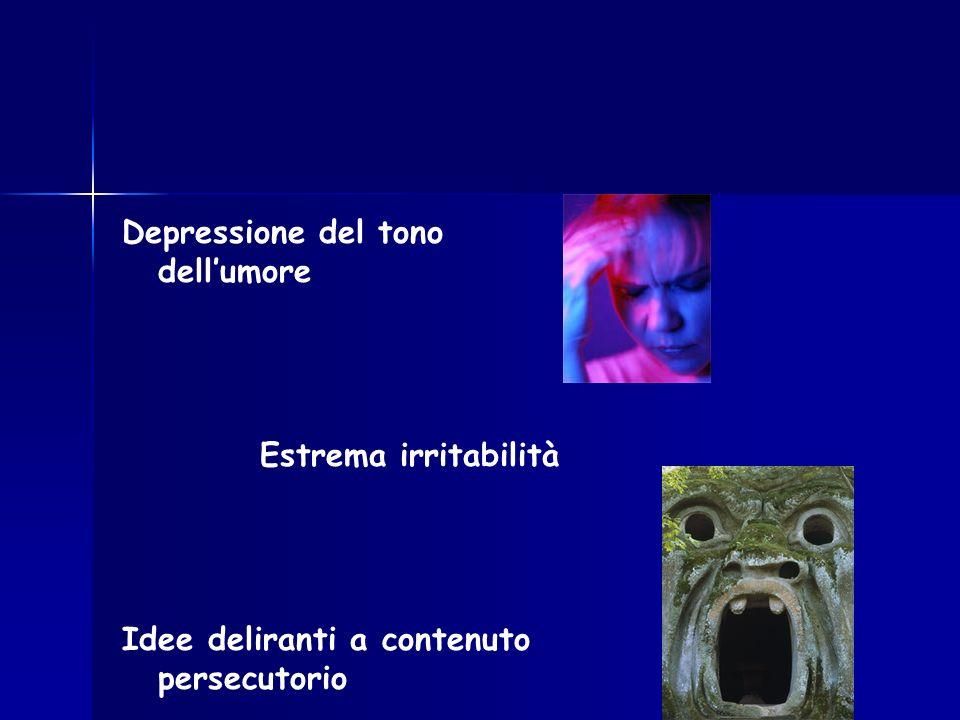 Depressione del tono dell'umore