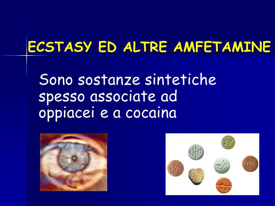 ECSTASY ED ALTRE AMFETAMINE