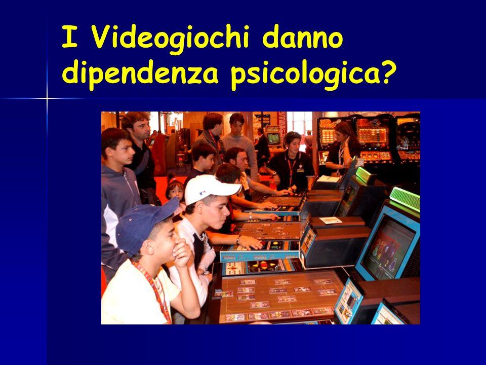 I Videogiochi danno dipendenza psicologica
