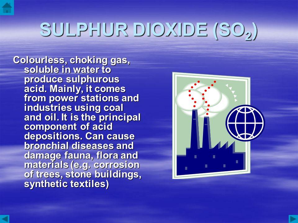 SULPHUR DIOXIDE (SO2)